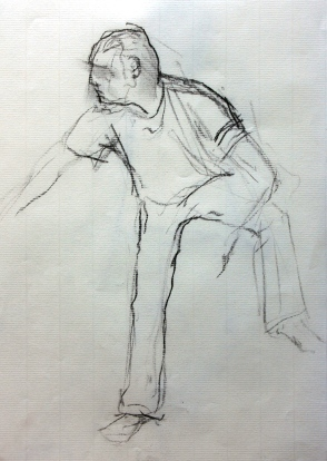 Christophe - Fusain